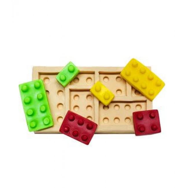 Molde de Silicone Importado Lego