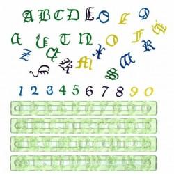 Régua FMM Alfabeto Inglês Antigo