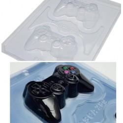 Forma de Acetato Modelo Joystick, Controle de Video Game para Decorar
