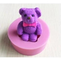 Molde de Silicone Urso para Decorar Ursinho