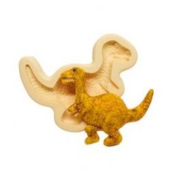 Molde de Silicone Velociraptor  para Decorar Dinossauro