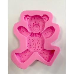 Molde de Silicone Urso de Gravata para Decorar