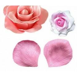 Molde de Silicone Pétala de Rosa para Decorar