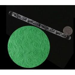 Rolinho Marcador de Acrilico para Texturizar Florzinhas