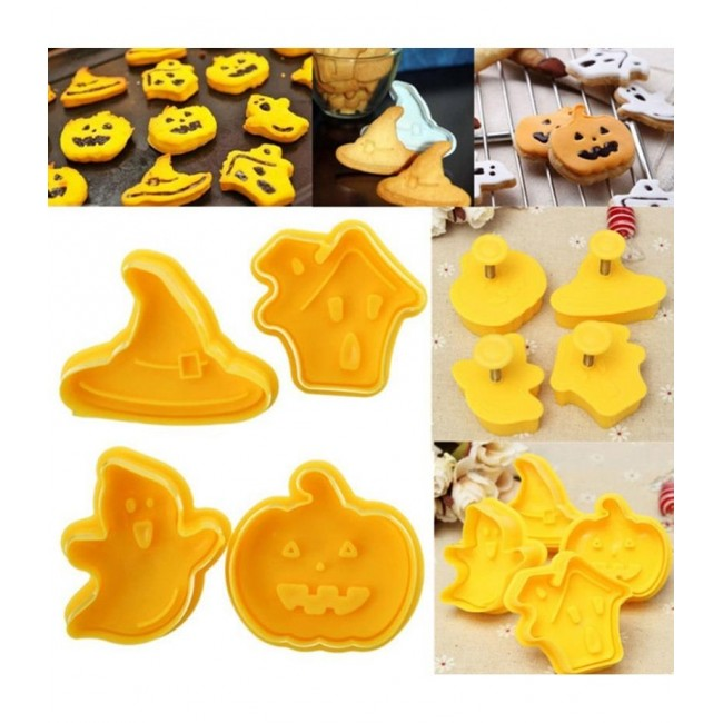 Ejetor de biscoito Modelo Hallowen, Dia das Bruxas para Decorar