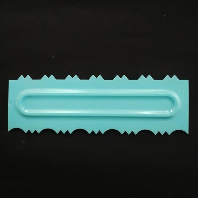 Régua de Plástico Modeladora de Bolo 3