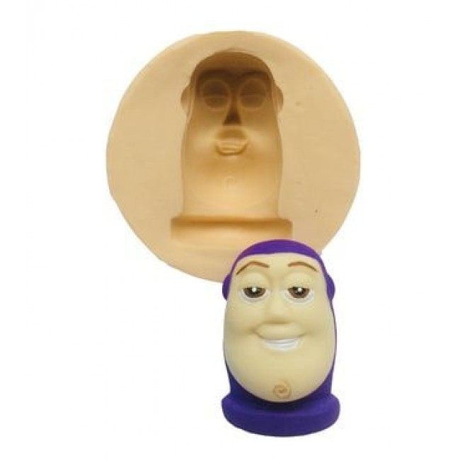 Molde de Silicone Buzz Lightyear para Decorar Toy Story
