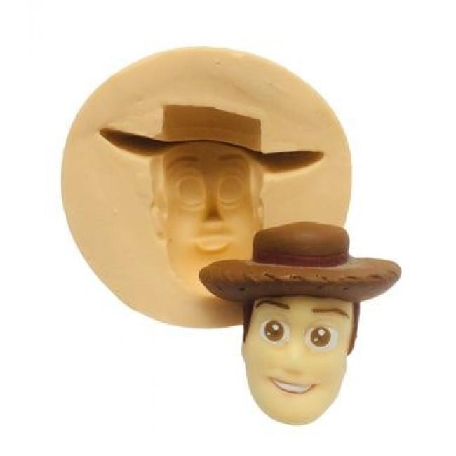 Molde de Silicone Woody  para Decorar Toy Story