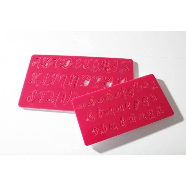 Marcador de Placa Alfabeto Minúsculo para Decorar Letras