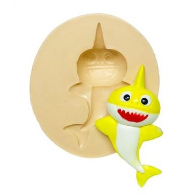 Molde de Silicone Baby Shark