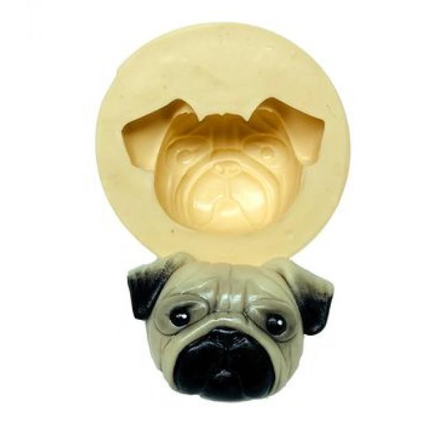 Molde de Silicone Pug Cachorro
