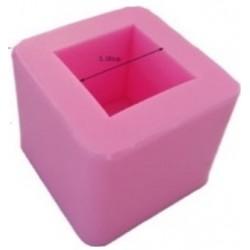 Molde de Silicone para Decorar Cubos