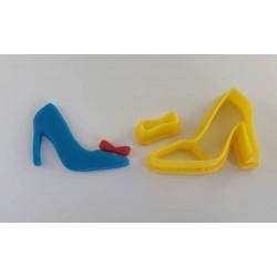Cortador Sapato de Princesa Grande