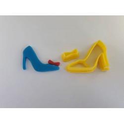 Cortador Sapato de Princesa Pequeno
