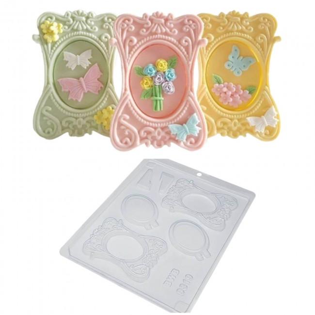 Forma de Acetato para Decorar Porta Retrato, PVC