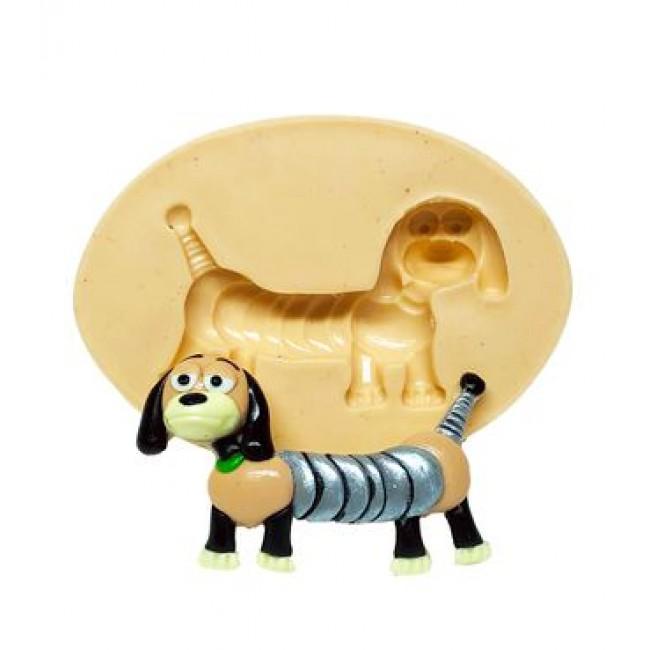 Molde de Silicone Toy Story Slinky, Cachorro Mola para Decorar