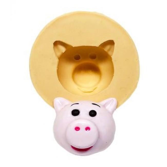 Molde de Silicone Toy Story Porco para Decorar