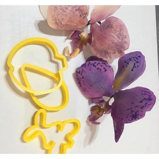 Cortador Orquídea para Decorar