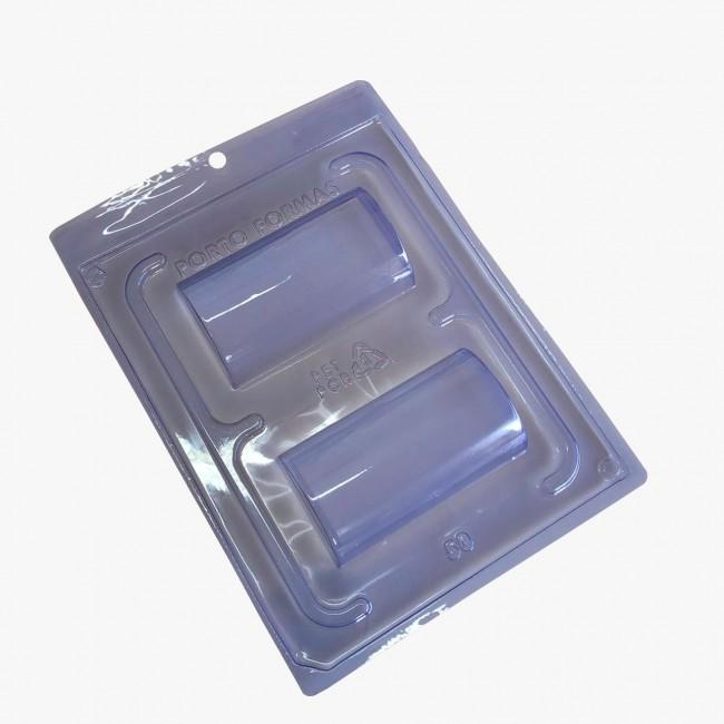 Forma de PVC, Acetato Cilindro Especial para Decorar