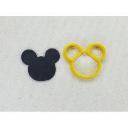 Cortador Cabeça Mickey Pequena para Decorar