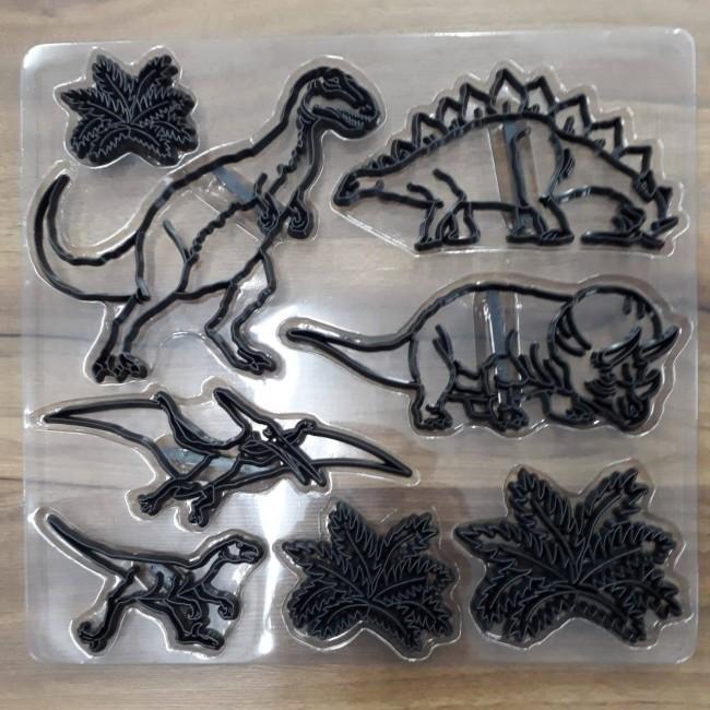 Marcador de Dinossauros para Decorar