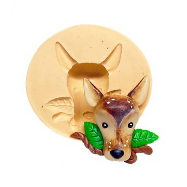 Molde Silicone Bambi, Veado, Gazela para Decorar Jarcim, Bosque