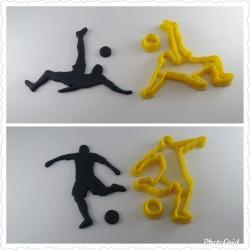 Kit Cortador de Mini Jogadores de Futebol
