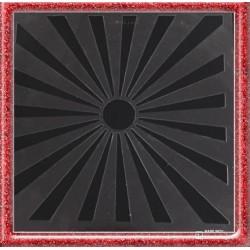 Stencil de Raio de Sol para Decorar