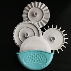 Cutter de Plástico, Cortador para Pasta Americana, Ideal para Confeitar
