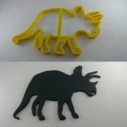 Cortador Silhueta Triceraptops para Decorar Dinossauro em Bolo