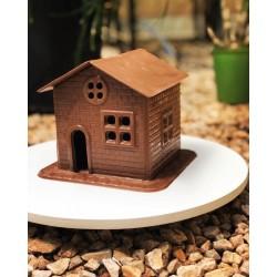 Forma de Acetato PVC Choco House, Casa, Casinha para Decorar de Chocolate