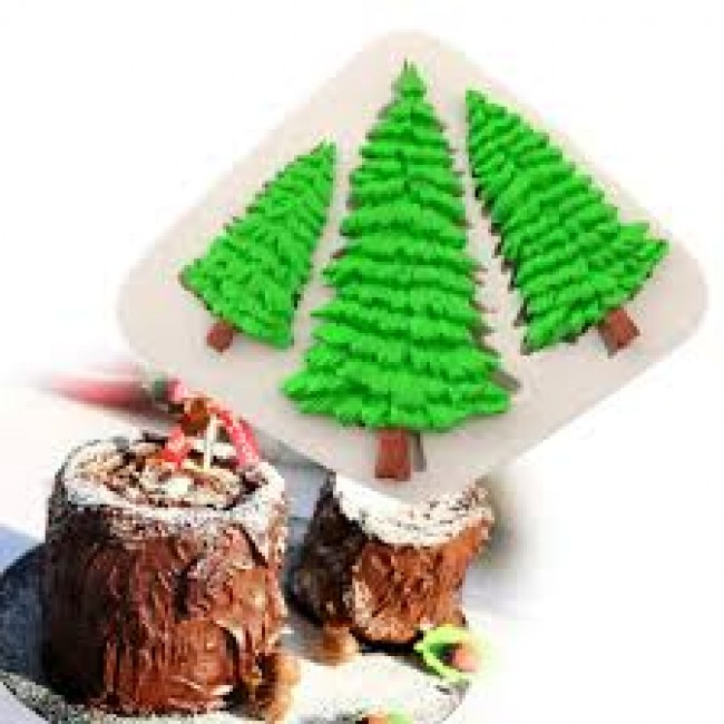 Molde de Silicone Árvore de Natal para Decorar, Pinheiro