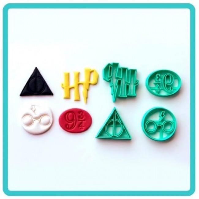 Cortador Harry Potter Símbolos para Decorar