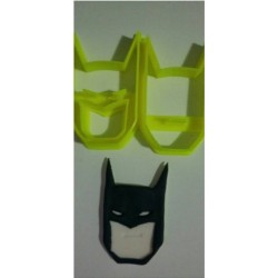 Cortador Máscara Batman 6cm para Decorar Super Herói