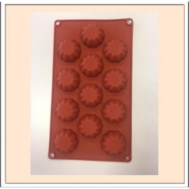 Forma de Silicone para Decorar Chocolate Grau Alimentício