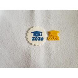 Cortador Formatura 2020 para Decorar Graduação