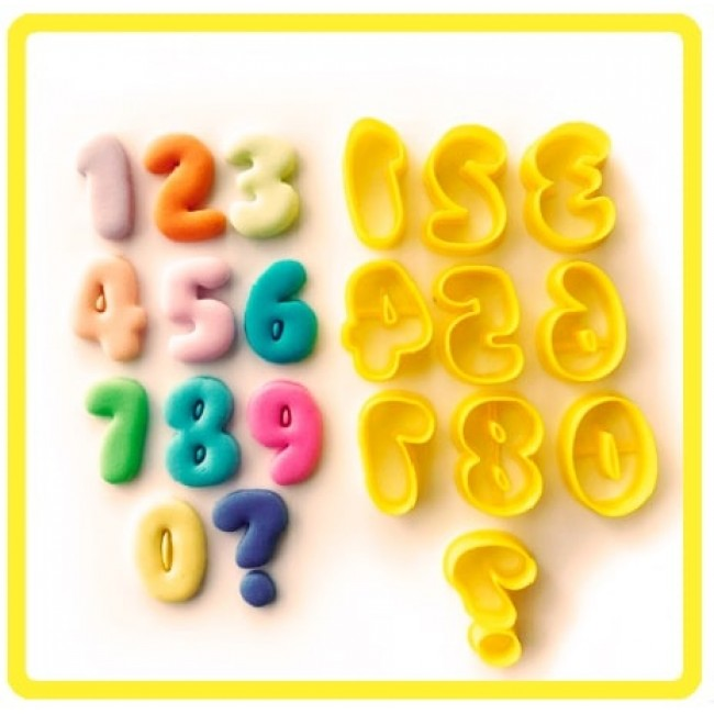 Cortador Números para Decorar