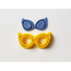 Cortador Óculos LOL Gatinha para Decorar