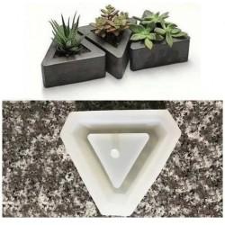 Molde De Silicone Vaso Para Decorar Plantas