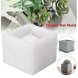 Molde De Silicone Vaso Para Decorar Plantas Tronco