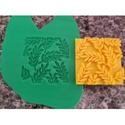 Marcador De Textura Folhas