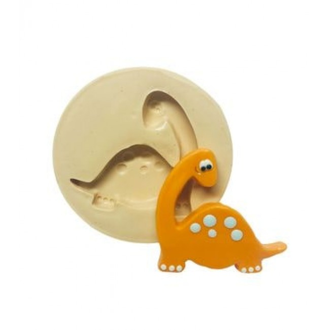 Molde De Silicone Dinossauro Baby III