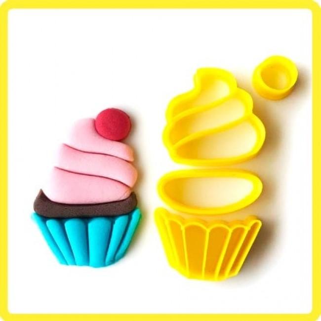 Cortador Cupcake Modulado Docinho