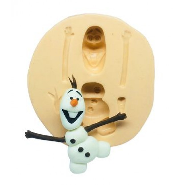 Molde De Silicone Olaf  Frozen II
