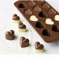 6240da330 Forma Bolo Chocolate Moldes De Silicone Bandejas Ferramentas de Decorar