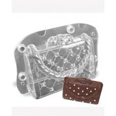 cb036124d Bolsa de Mão em Acrilico para Confeitar Chocolate