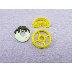 Cortador Donuts Pequeno 3cm para Confeitar