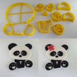 Cortador de Panda Grande para Decorar