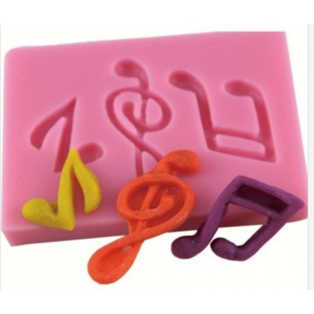 121cfe68d Molde Silicone Musical Biscuit Pasta Americana Chocolate